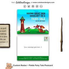 Custom Rodan + Fields Fairy Tale Postcard