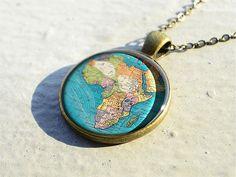 Africa Necklace #vintage