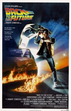 Back to the Future (1985) a film by Robert Zemeckis + MOVIES + Michael J. Fox + Christopher Lloyd + Lea Thompson + Crispin Glover + Thomas F. Wilson + cinema + Adventure + Comedy + Sci-Fi