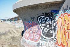 https://flic.kr/p/MDrUTW | graffiti at Ocean Beach