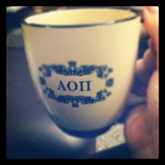 AOII mug - for sugar, spice, and everything nice