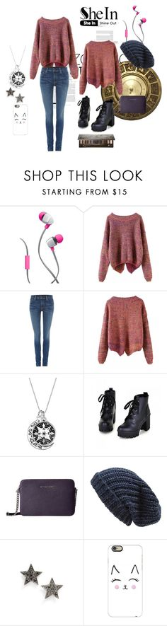 """""""SheIn Purple Sweater"""" by xojuliaem ❤ liked on Polyvore featuring Merkury Innovations, Polo Ralph Lauren, Colorful Shoes, Phase 3, Dana Rebecca Designs, Casetify and Urban Decay"""
