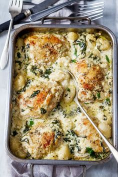 This crowd-pleasing One-Pan chicken and gnocchi with garlic asiago cream sauce is perfect for an easy weeknight comfort meal. The Italian seasoned chicken is scrumptious here, but this is all about…