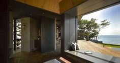 Cette magnifique maison nommée «A'tolan House» est une réalisation du studio d'architectureCreate + Think Design Studio. Elle est située sur la côte Est