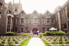 Hart House Quad (ceremony only) Toronto Wedding, Wedding Venues, Perfect Wedding, Dream Wedding, Wedding Stuff, Toronto Pictures, Toronto Architecture, Hart House, Diana Wedding