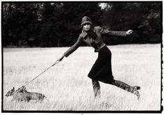 British Vogue  Apollonia von Ravenstein by Arthur Elgort, 1971