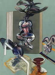 Francis Bacon - Triptych Center Panel, 1976