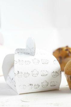 Cajitas para magdalenas y pastelitos