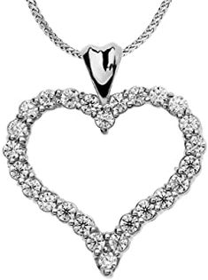1 Carat Diamond Heart Pendant Necklace in 14k White Gold #necklacependantgold #pendantdiy #pendantjewelry #pendantnecklacediy #pendantnecklacediamond #necklacependantdiamond #pendantwhitegold #pendantnecklace #diyjewelrypendant #beadnecklace #pendant #necklace #jewelrypendants #necklacependantdiy #necklacependantsilver #necklacependantunique #pendantnecklaceunique #simplependantnecklace #diypendantnecklace #diynecklacependant #diamondpendants 1 Carat, Promise Necklace, Pear Diamond Engagement Ring, Pearl Drop Earrings, Heart Pendant Necklace, Diamond Heart, Diamond Jewelry, Gold Jewelry, Women Jewelry