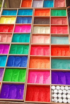 Tika powder for sale, Pashupatinath by lightmeister, via Flickr
