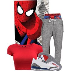SPIDERMAN!!!, created by ayeeyo-javon on Polyvore
