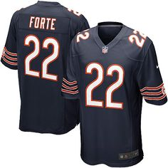 Nike Chicago Bears Matt Forte Elite Jersey Youth Navy Blue #22 Team Color NFL Jerseys Sale