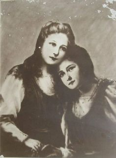 Con la hermana