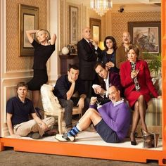 First Look at the Entire Bluth Family in Arrested Development Season 4 -- The entire family is pictured in the latest image for the highly-anticipated new season, debuting in its entirety May 26th on Netflix. -- http://wtch.it/Ng2Mn
