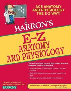The authors of E-Z Anatomy and Physiology present an extensive review of the human body's structural framework and describe how it functions. Each of 23 chapters covers a separate system of the body a