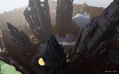 Game of Thrones locations recreated in Minecraft - 4 of 17