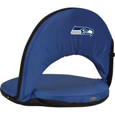 Picnic Time Seattle Seahawks Oniva Seat  http://allstarsportsfan.com/product/picnic-time-seattle-seahawks-oniva-seat/  Lightweight and portable Steel frame cushioned with high-density PU foam for hours of comfortable sitting; An adjustable shoulder strap A zippered pocket for extra storage