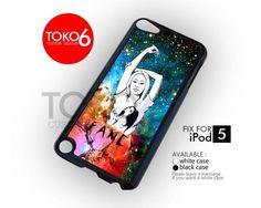 AJ 4177 iggy azalea fancy galaxy - iPod 5 Case   toko6 - Accessories on ArtFire