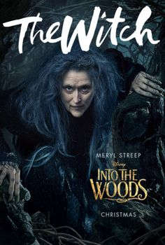 The characters of Disney's upcoming film, Into The Woods, get a new set of character portraits with a special twist.