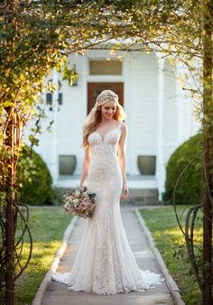 Martina Liana 905 Sheath Wedding Dress