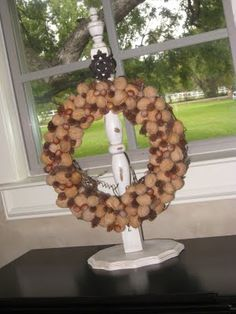 Wreath Holder... Really Needing To Make One!