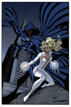 cloak and dagger marvel | Cloak and Dagger - color by *Juggertha on deviantART