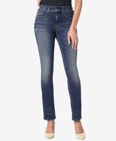 Nydj Sheri Tummy-Control Slim Jeans - Blue 14