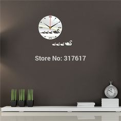 Store - Amazing prodcuts with exclusive discounts on AliExpress Mirror Wall Clock, Store, Home Decor, Decoration Home, Room Decor, Larger, Home Interior Design, Shop, Home Decoration