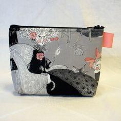 Halloween Fabric Cosmetic Bag The Ghastlies by Heart2Handbags, $12.00