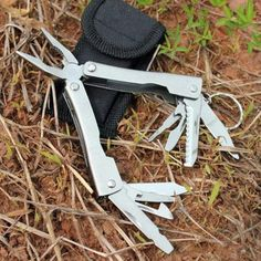 Steel Stainless Outdoor Multi Portable Tool Plier Survival 9in1 Camping Knives  #MultiPortableTool