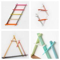 Ta.Ta. Diseño no convencional para los niños: GEOMETRÍA que decoran: A-MARCOS