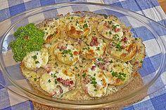Gebackene Käsekartoffeln, ein schmackhaftes Rezept aus der Kategorie Kartoffeln. Bewertungen: 152. Durchschnitt: Ø 4,5.