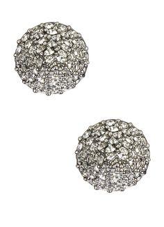 CC Skye Rock Stud Earrings