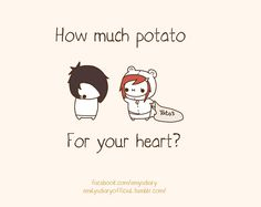 How much potato for your heart?