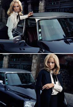 Энико Михалик (Eniko Mihalik) Фотосессия для журнала Vogue Spain (сентябрь 2012)