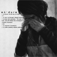 Endure and Survive... -Ellie (The Last Of Us)