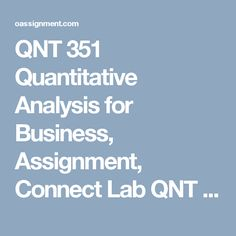 Qnt  Week  Introduction To Statistical Thinking Worksheet