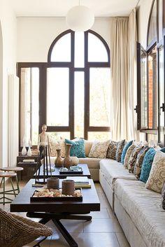 Italian home of Annette Joseph via designspongeshop