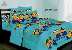 Despicable Me Bedding Sets | Cadar kartun new despicable me2 termasuk pos - For Children for sale ...