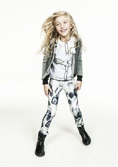 Molo winter 2013 | love this cool and rockish ooutfit for girls
