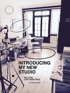 Introducing my new studio. No hype - just beautiful by Carole Guevin