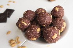 Healthy snicker balletjes van havermout