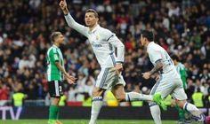 كريستيانو رونالدو أفضل هدّاف في الدوريات الكبرى…: أحرز مهاجم ريـال مدريد، البرتغالي كريستيانو رونالدو، هدف في فوز فريقه على ريـال بيتيس أمس…