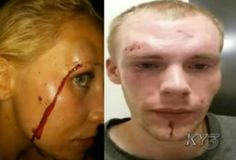 A SHOCKING CCTV FOOTAGE OF COUPLE GETTING BEATEN UP BY GANGS AFTER LEAVING IN A NIGHTCLUB!