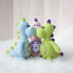 PDF Дракоша. Бесплатный мастер-класс, схема и описание для вязания игрушки амигуруми крючком. Вяжем игрушки своими руками! FREE amigurumi pattern. #амигуруми #amigurumi #схема #описание #мк #pattern #вязание #crochet #knitting #toy #handmade #поделки #pdf #рукоделие #дракоша #дракон #дракончик #динозавр #дино #динозаврик #dinosaur #dragon