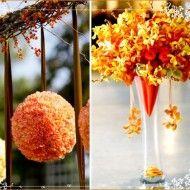 INSPIRAÇÃO: Casamento amarelo e laranja - decoracao-de-casamento - casamento amarelo e coral 13 190x190