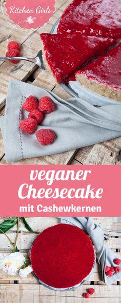 Wir zeigen dir wie man cremigen Cheesecake ohne tierische Produkte zubereitet. Klick hier für das vegan Käsekuchen Rezept!