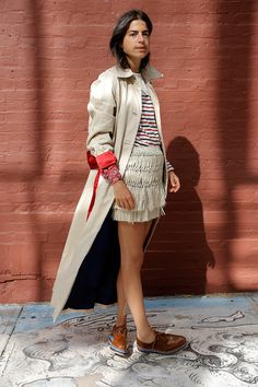 Cool Beans! Leandra Made Fall Coats with Veda - Man Repeller