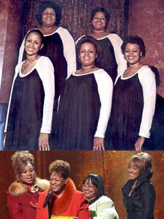 "The Clark Sisters — My all-time favorite gospel group. Now THIS is soul! From 1981, hear ""You Brought The Sunshine (Into My Life)"" in my board, ""My Music: The Girls""."