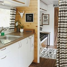 Airstream interior. Country Living #ad